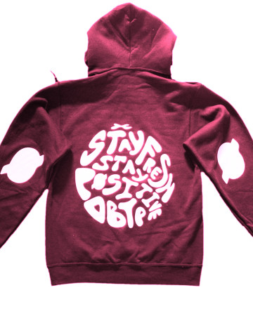 SFSP Hoody Back Crimson
